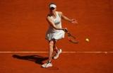 Светлана провела тренировку на центральном корте турнира в Риме