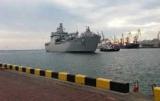 В порт Одессы стал десантный корабль ВМС Турции