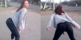 Кровавый тверк: сексуальный танец девушки стал причиной ДТП (Видео)