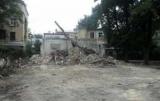 В Одессе сносят развалины дома, где жил русский писатель Иван Бунин