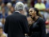 Истерический Серена Уильямс в финале Открытого чемпионата США. Видео