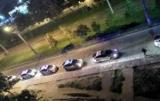В реку ночью семь экипажей полиции задержали певца